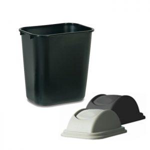 Cesto de basura ignífugo 26.6 L