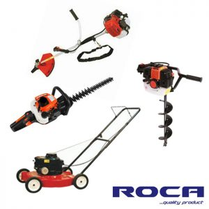 Lawn mowers and garden machinery